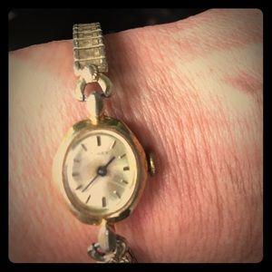 Antique Gold Timex Watch